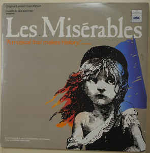 Alain Boublil And Claude-Michel Schönberg - Les Misérables (2xLP, Album)