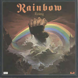 Blackmore's Rainbow - Rainbow Rising (LP, Album, Gat)