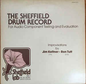 Jim Keltner / Ron Tutt - The Sheffield Drum Record (LP)