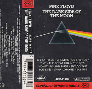 Pink Floyd - The Dark Side Of The Moon (Cass, Album)