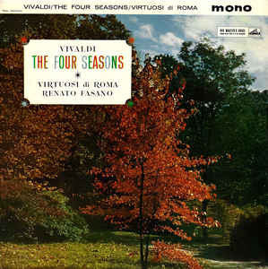 Antonio Vivaldi ; Virtuosi Di Roma, Renato Fasano - The Four Seasons (LP, Mono)