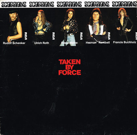 Scorpions - Taken By Force (LP, Album)