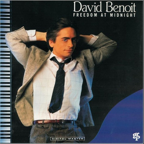 David Benoit - Freedom At Midnight (LP, Album)