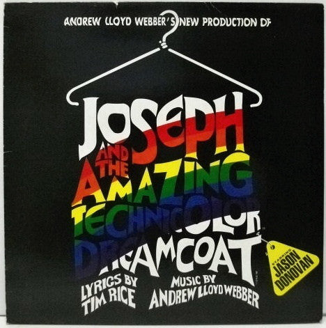 Andrew Lloyd Webber, Tim Rice Starring Jason Donovan - Andrew Lloyd Webber's New Production Of: Joseph And The Amazing Technicolor Dreamcoat (LP)