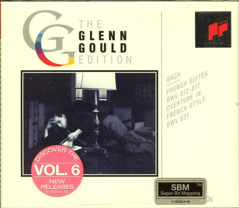 Bach* - Glenn Gould - French Suites, BWV 812 - 817 ∙ Overture, BWV 831 (2xCD, Comp)