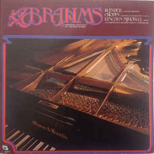 Lincoln Mayorga - Brahms Variations And Fugue On A Theme By Handel (LP, Album, Dir)