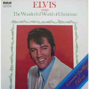 Elvis Presley - Elvis Sings The Wonderful World Of Christmas (LP,Album)