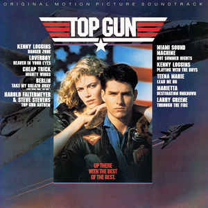 Top Gun (Original Motion Picture Soundtrack)- Va (LP, Album)
