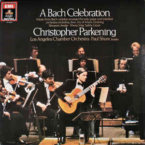 Christopher Parkening, Los Angeles Chamber Orchestra - A Bach Celebration (LP, Album)