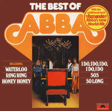 ABBA - The Best Of ABBA (LP, Comp)