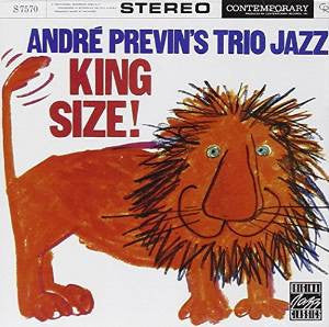 André Previn's Trio Jazz - King Size! (CD, Album)