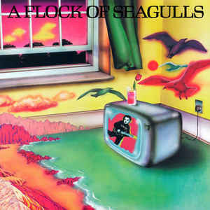 A Flock Of Seagulls - A Flock Of Seagulls (LP, Album)