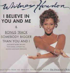 "Whitney Houston - I Believe In You And Me (12"", Maxi EP)"