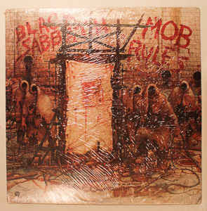 Black Sabbath - Mob Rules (LP, Album)