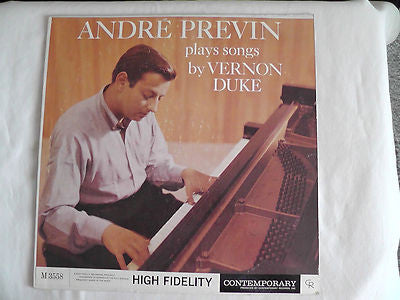 Andre Previn-Plays songs by Vernon Duke (Lp, Album)