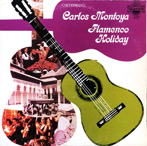 Carlos Montoya - Flamenco Holiday (LP)