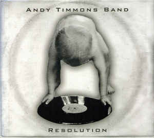 Andy Timmons Band - Resolution (CD, Album, Dig)