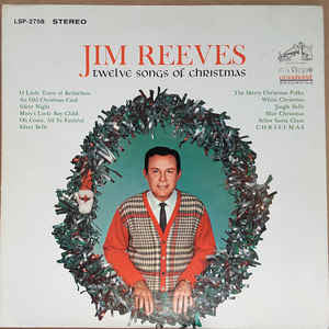Jim Reeves - Twelve Songs Of Christmas (LP, Album)