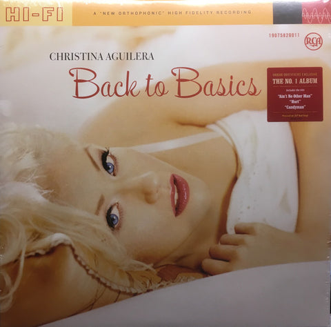 Christina Aguilera - Back To Basics (2xLP, Album, Ltd, RE, Red)