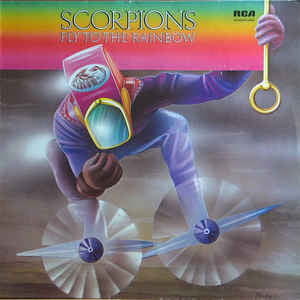 Scorpions - Fly To The Rainbow (LP, Album)
