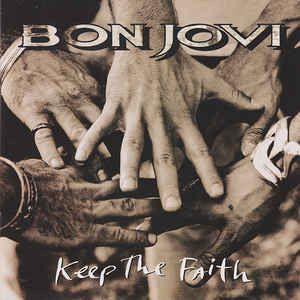 Bon Jovi - Keep The Faith (LP, Album)