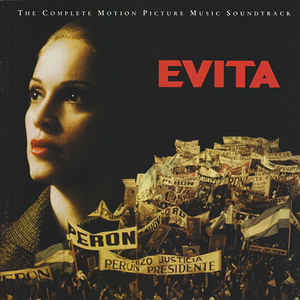 Andrew Lloyd Webber And Tim Rice - Evita (The Complete Motion Picture Music Soundtrack) (2xCD, Album)