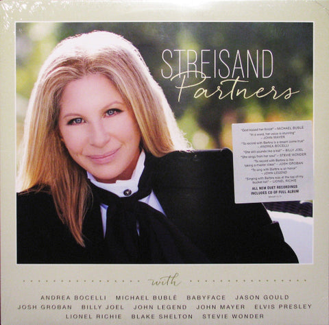 Barbra Streisand - Partners (2xLP, Album + CD, Album)