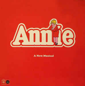 """Annie"" Original Cast - Annie (Original Cast Recording) (LP, Album, Gat)"