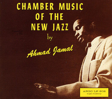 Ahmad Jamal Chamber Music Of The New Jazz( LP Album)