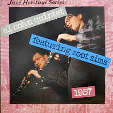 Al Cohn Quintet Featuring Zoot Sims - 1957 (LP, Mono, RE)
