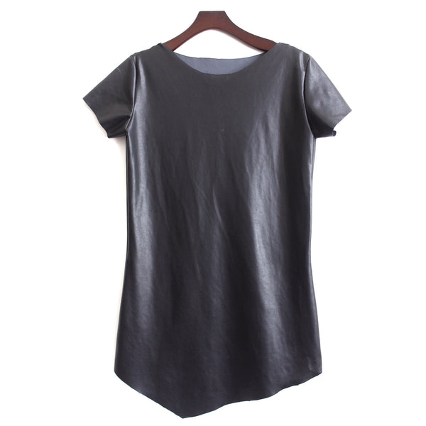 COLLECTION TSHIRT DRESS LEATHER