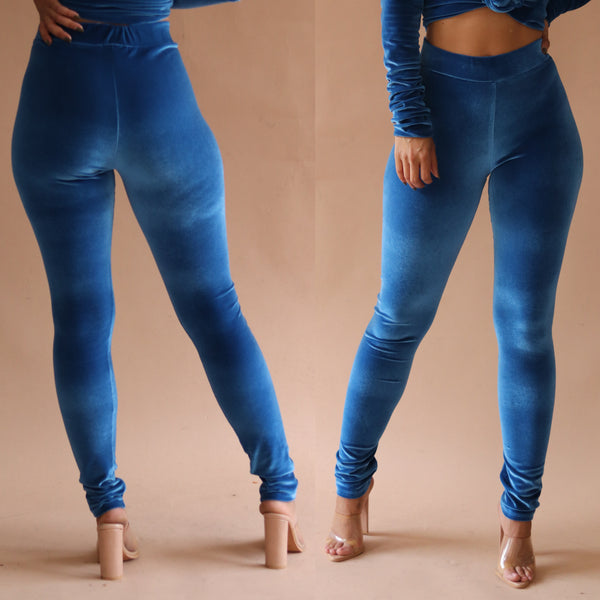 Monroe Leggings Carolina Blue