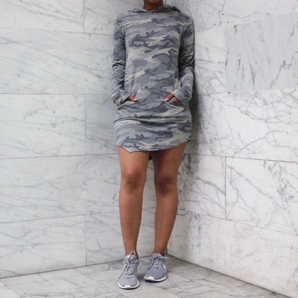 JANE DRESS GREY