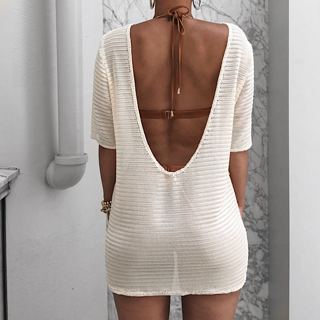 Leo Cover Up ivory
