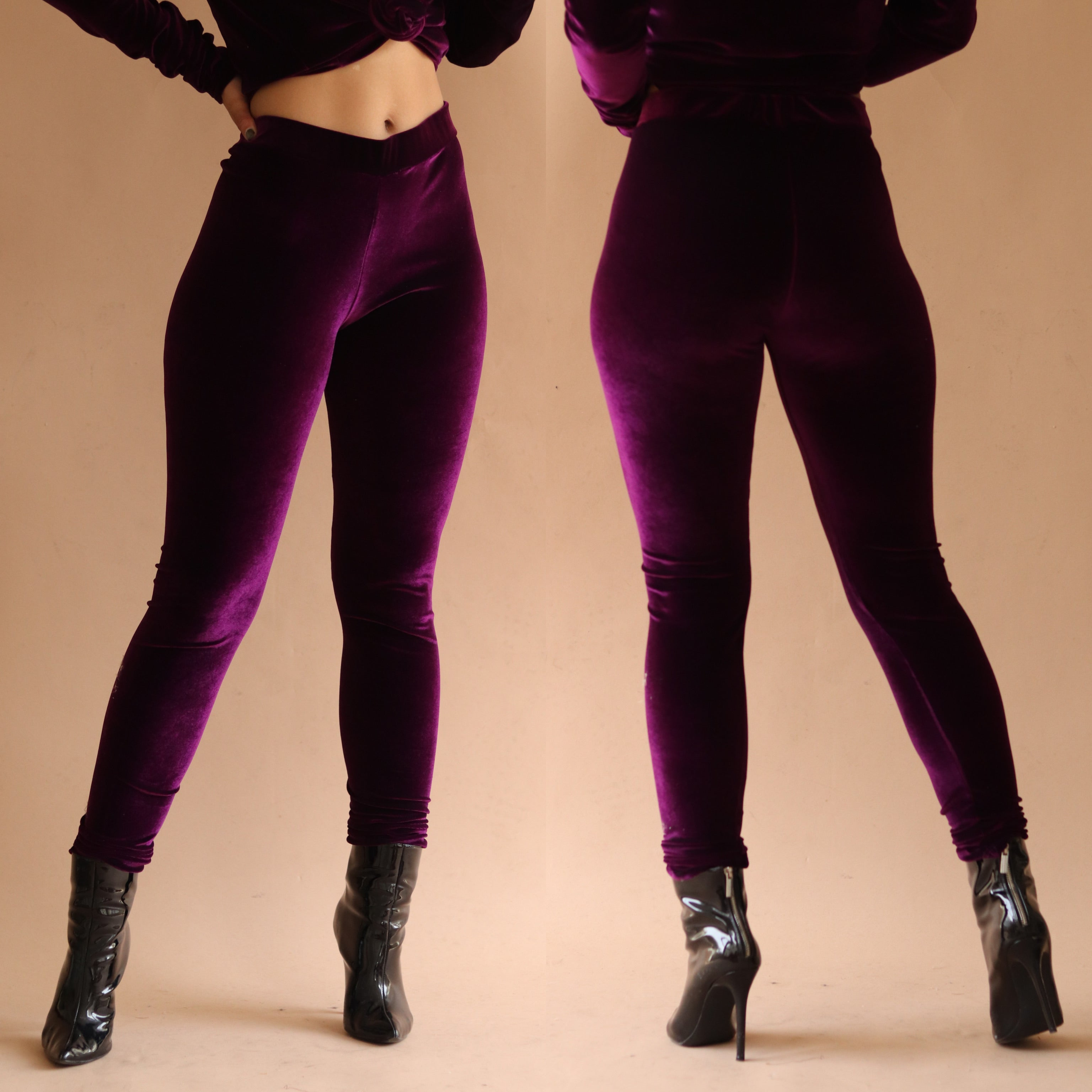 Monroe Leggings Grape