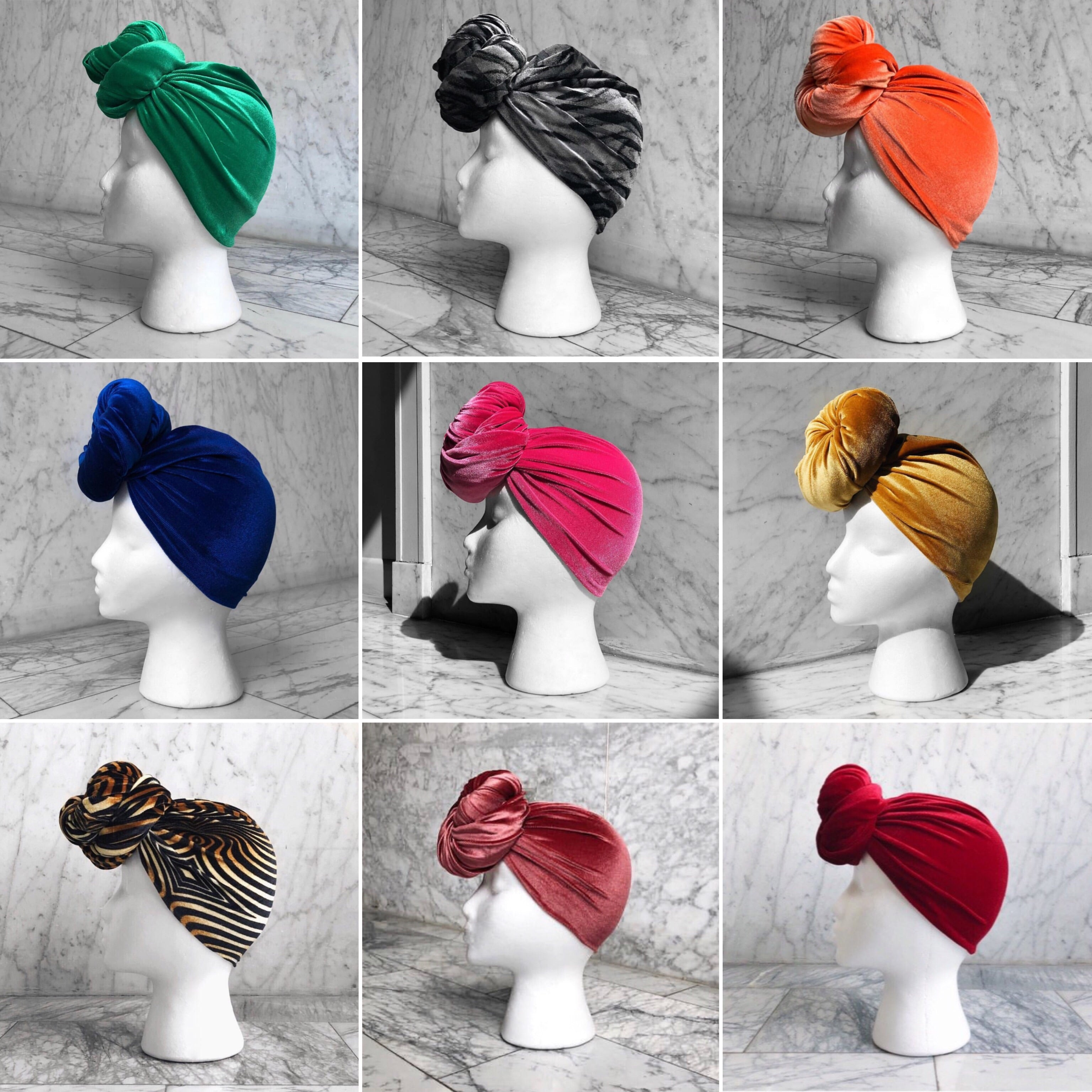Velvet Headwrap (+ 30 COLORS)