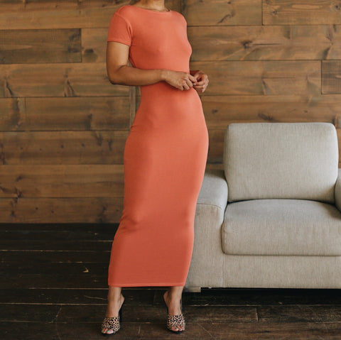 DANA DRESS Cantaloupe