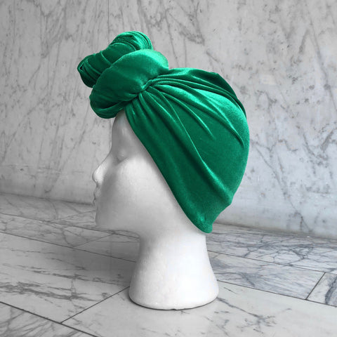 Green Velvet Headwrap