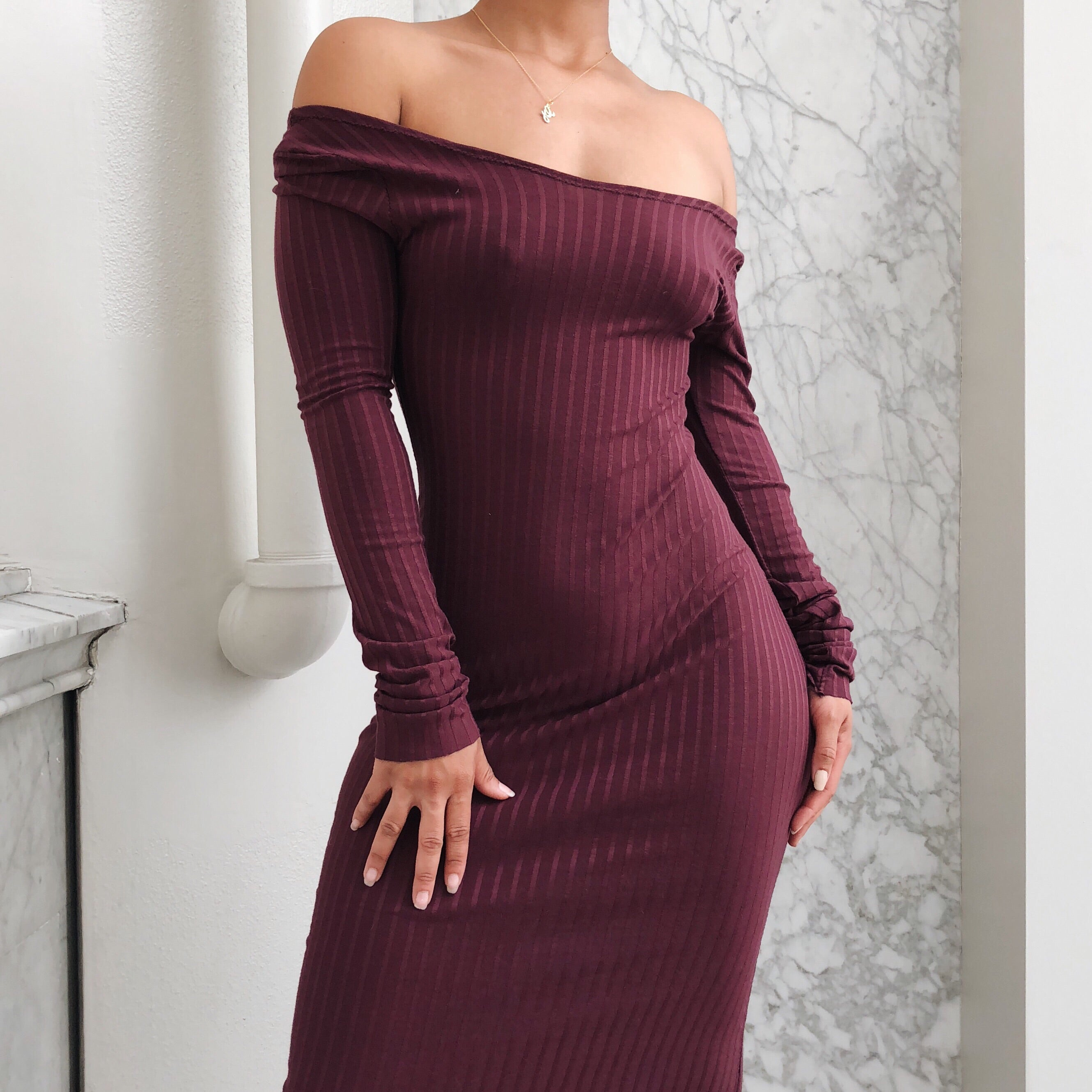 HARLOT SWEATER DRESS