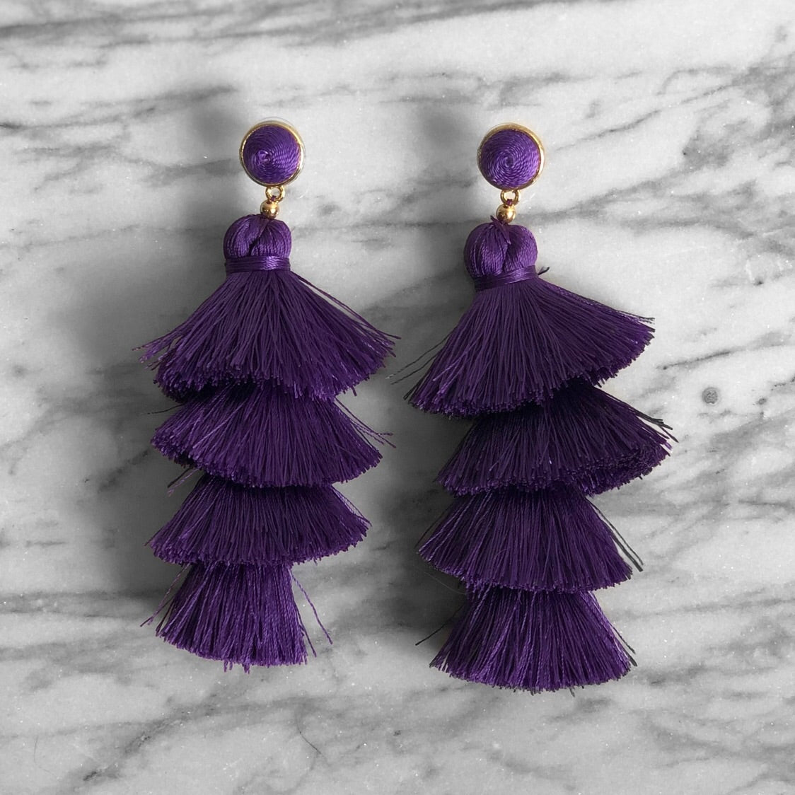 Purple Tassle