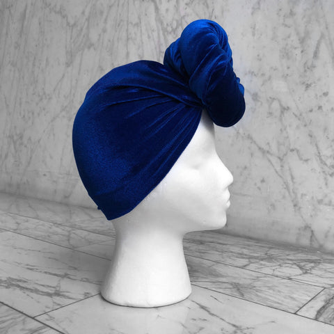 Royal Velvet Headwrap