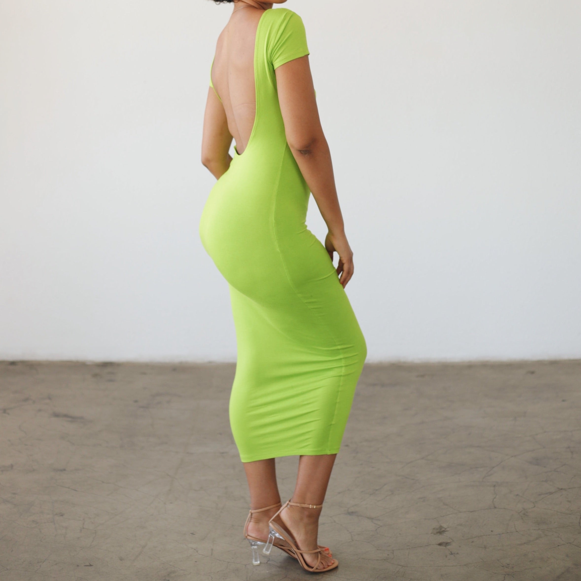 DANA DRESS LIME