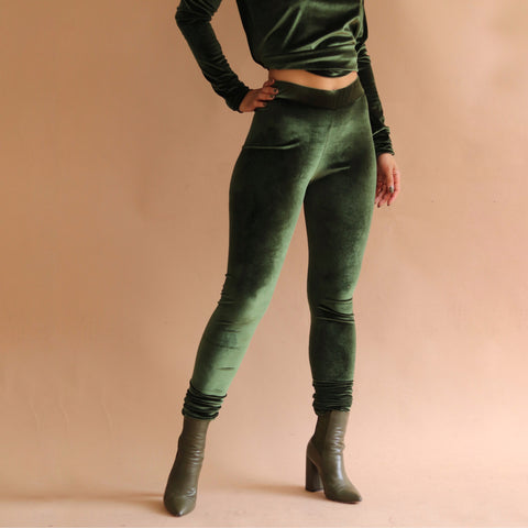 Monroe Leggings Olive