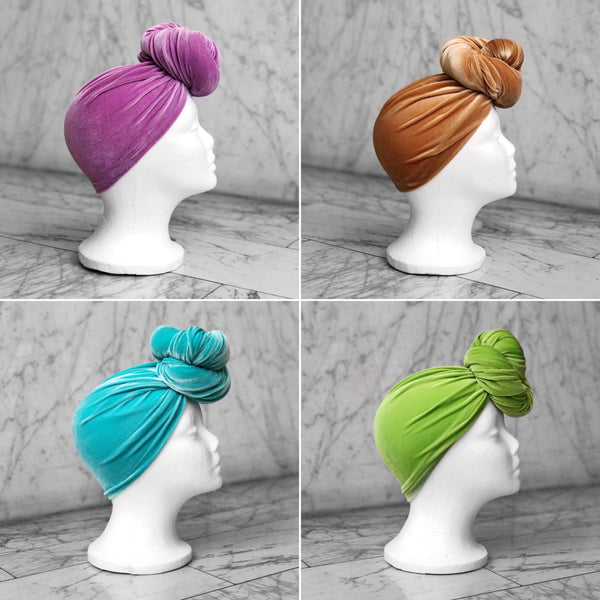 Velvet Headwrap (28 COLORS)