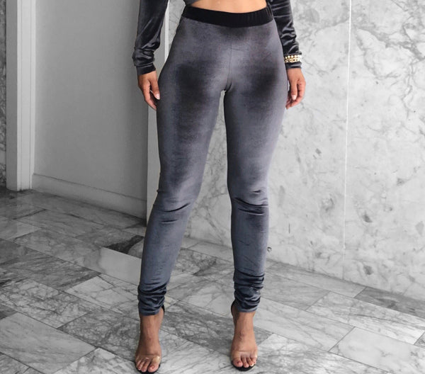 BF SWEATSHIRT SET CHARCOAL