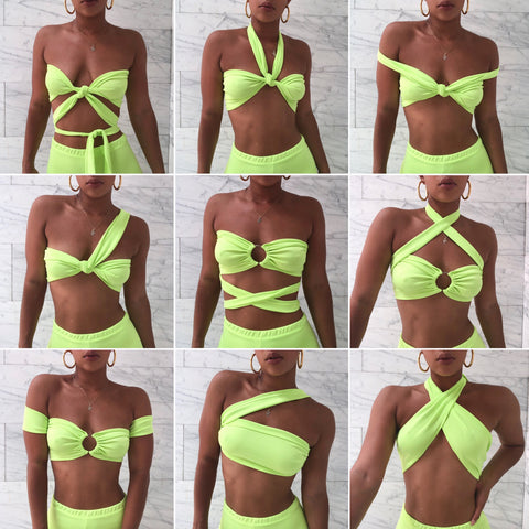 NEON MULTI-WAY TOP