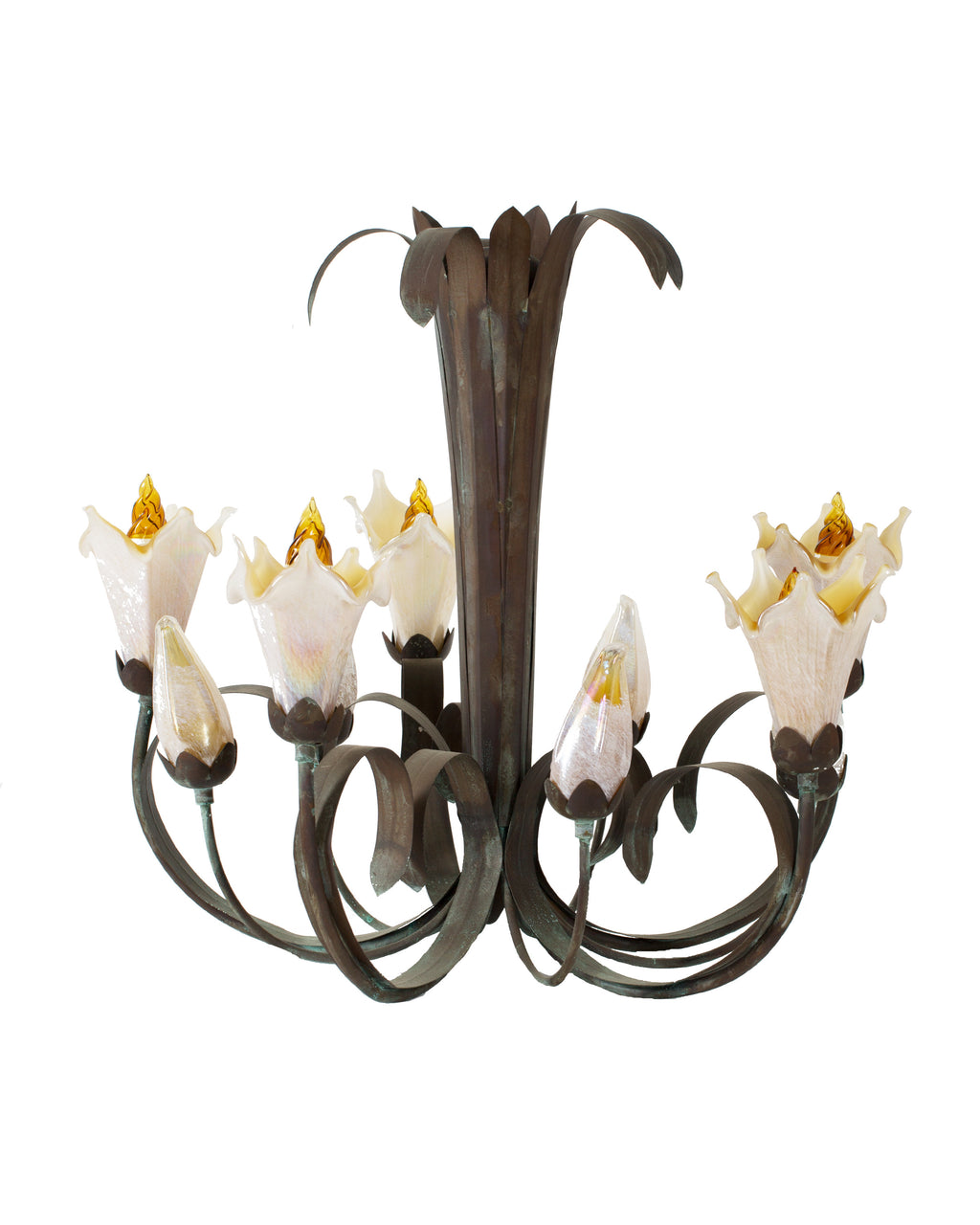 Star Lily Chandelier