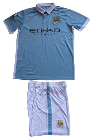 Manchester City Strip - Seniors