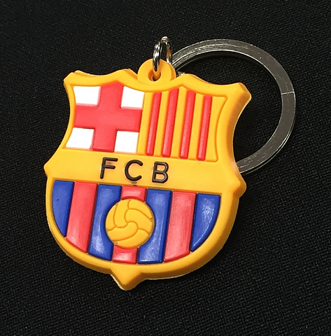 FC Barcelona Rubber Key Ring