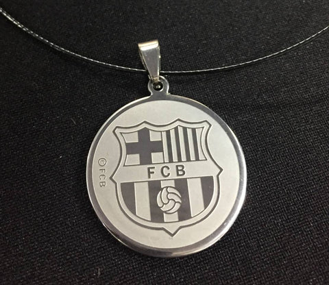 FC Barcelona Pendant Necklace